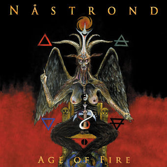 NASTROND - Age Of Fire  (Digipak)