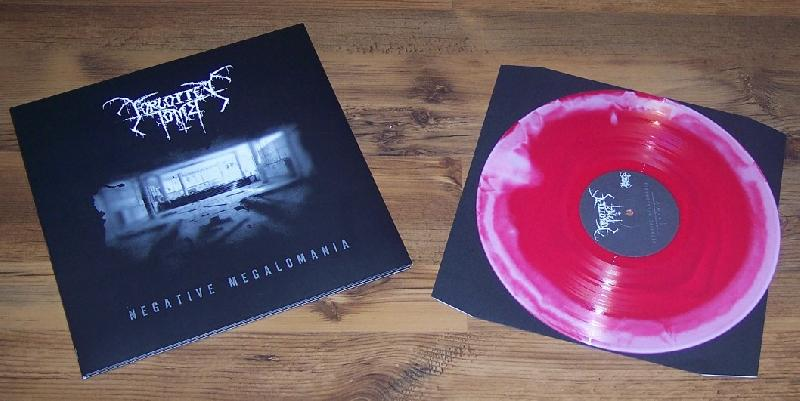 Forgotten Tomb - Negative Megalomania (red/white vinyl!Lim.150)