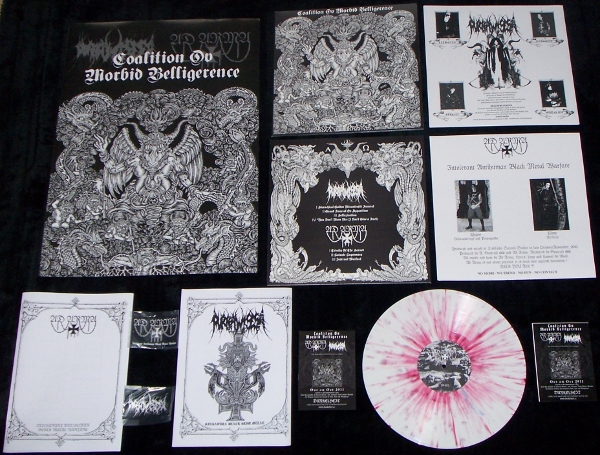 Ad Arma/Purbawisesa - Coalition ov Morbid Belligerence , LIMITED COLLECTORS EDITION