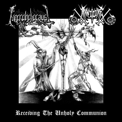 Necroholocaust/Manticore  - Receiving the unholy communion