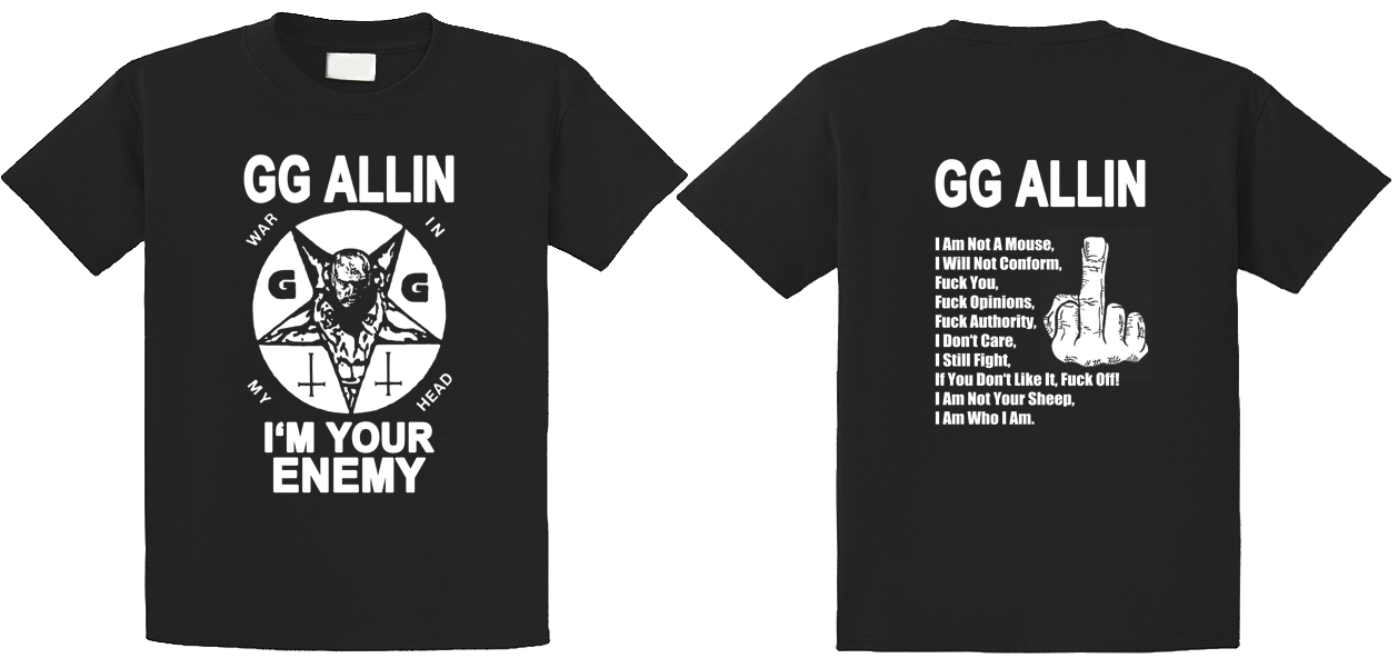 GG Allin - I'm Your Enemy