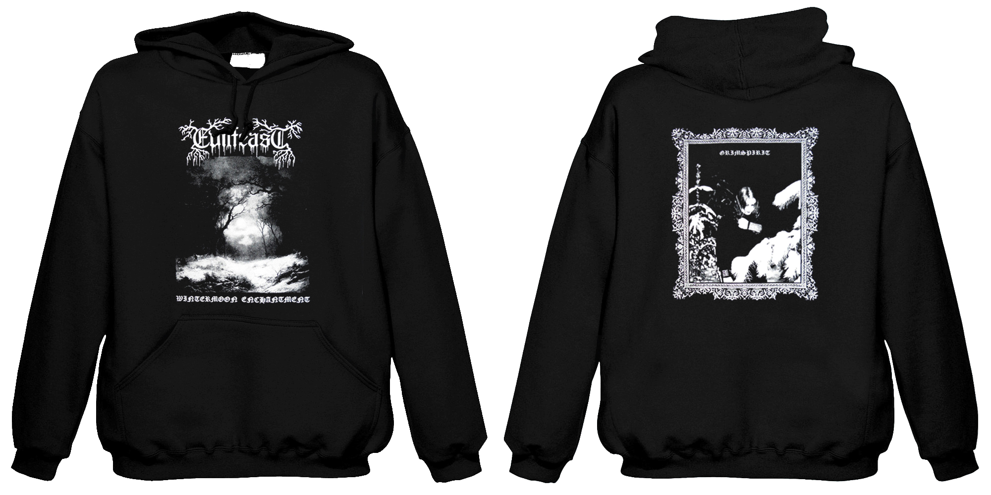 Evilfeast - Wintermoon Enchantment (Hooded sweatshirt)