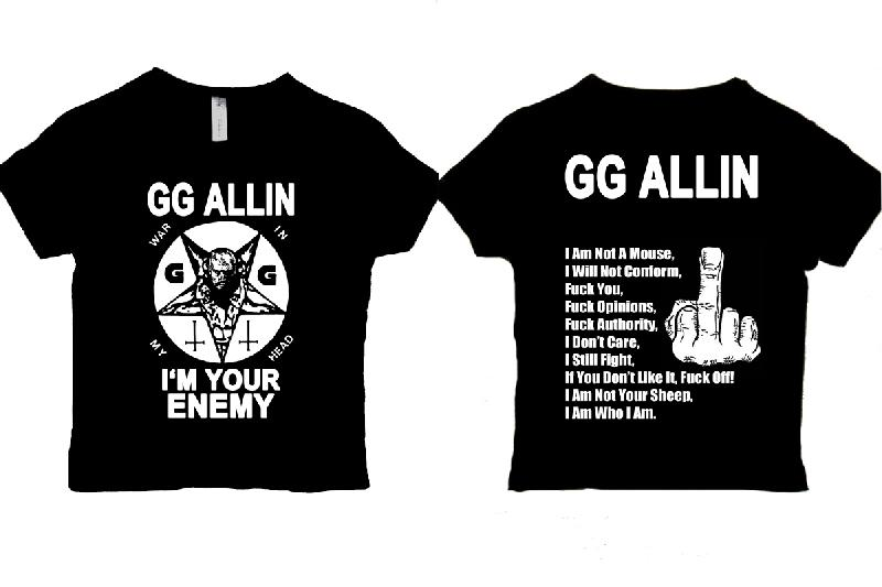 GG Allin - I'm Your Enemy  (Girlie)
