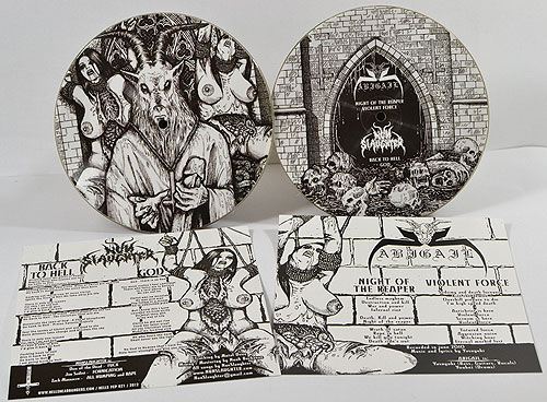 NUNSLAUGHTER / ABIGAIL - Fucking Satan (Picture EP)