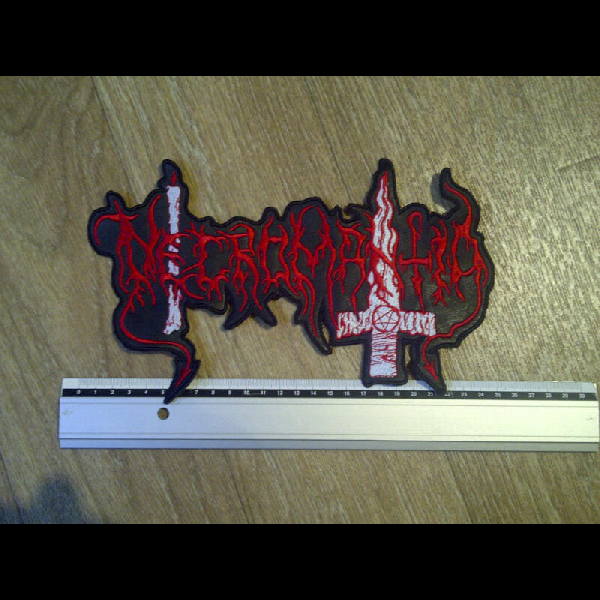 Necromantia - Logo  (Backpatch)