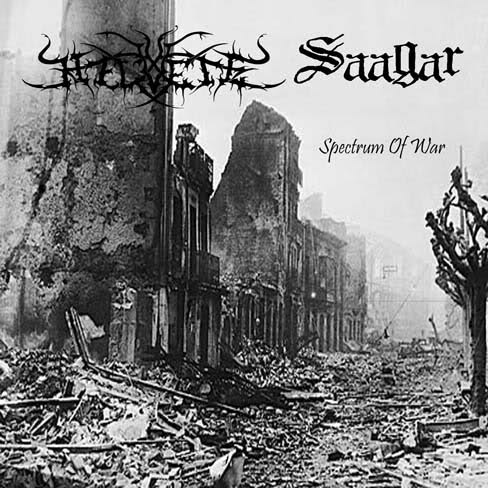 Helvete/Saagar - Spectrum Of War  (Lim. 100)