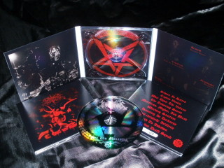 INFERNUS - Nex Um Monastica (death to religion in Latin),Digipak,Lim. 100!