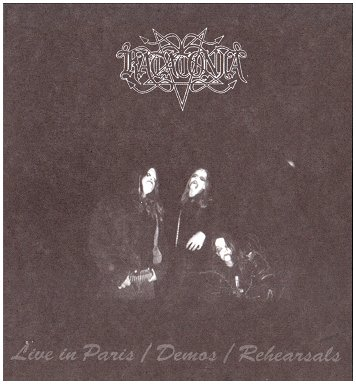 Katatonia - Live in Paris / Demos / Rehearsals  (Digipak)