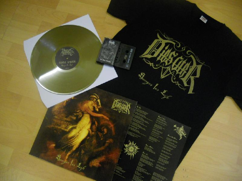 Dies Ater-Hunger For Life (Die hard version+T-shirt+Tape,Lim.68 !!)