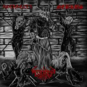 Akerbeltz / Waffenträger Luzifers / Nebrus - Slaughtered Whores of Satan