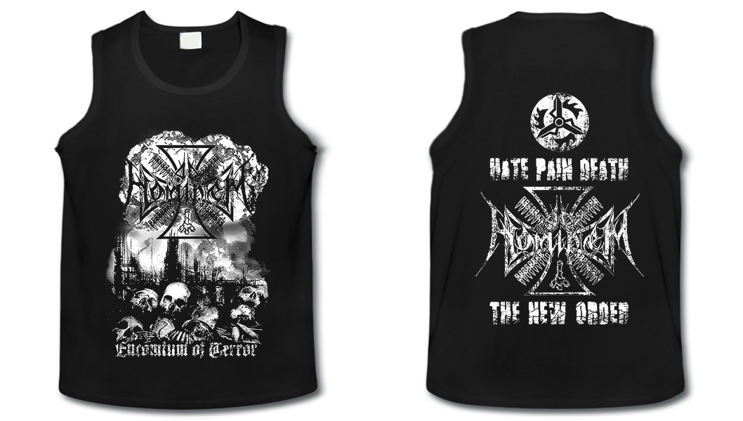 Ad Hominem - Encomium Of Terror  (Tank Top Man)