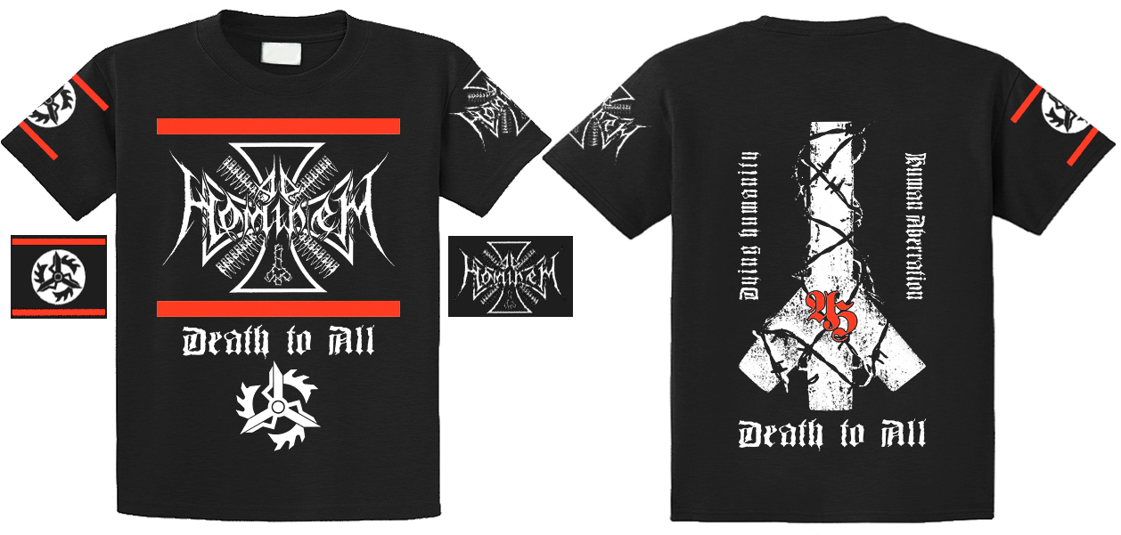 Ad Hominem - Death To All (T-shirt)