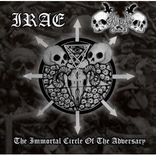 BLACK COMMAND/IRAE  - The immortal circle of the adversary