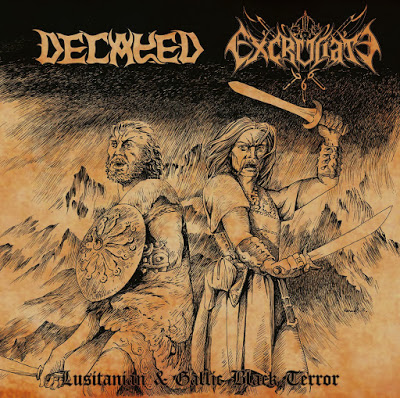 DECAYED / EXCRUCIATE 666  - Lusitanian & Gallic Black Terror