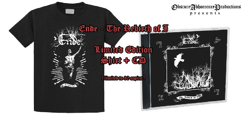 Ende - The Rebirth Of I CD+T-shirt,Lim.30!!