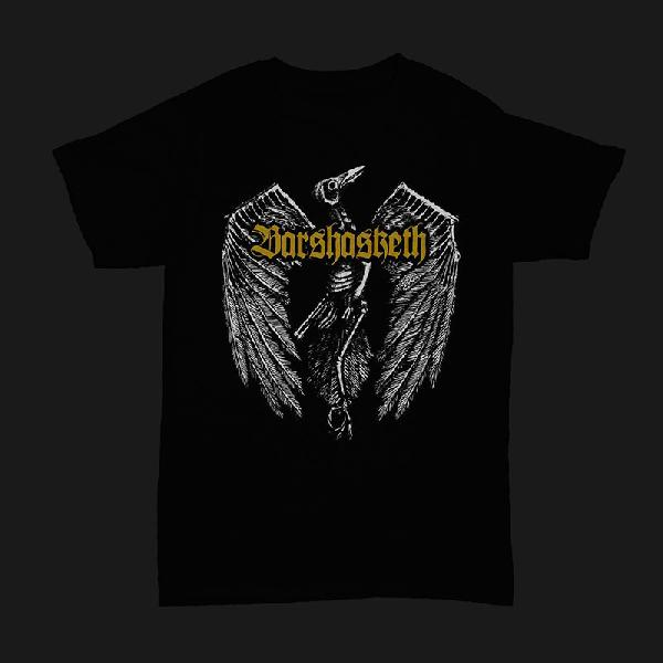 Barshasketh - Crow (Gold Logo)