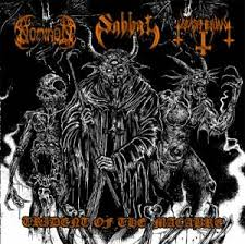 Nominon/Sabbat/Blaspherian - Trident Of The Macabre Split