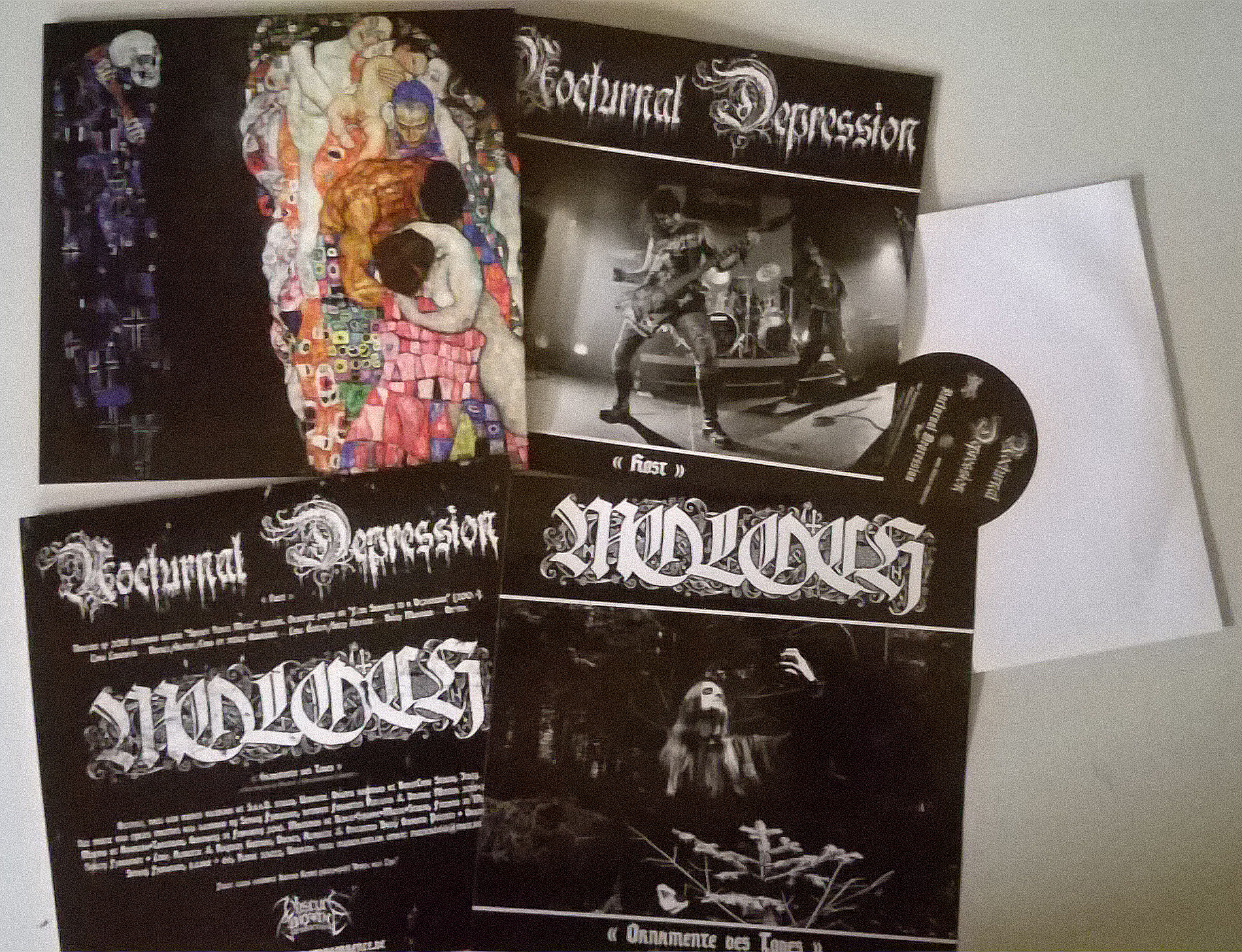 Moloch / Nocturnal Depression - Split