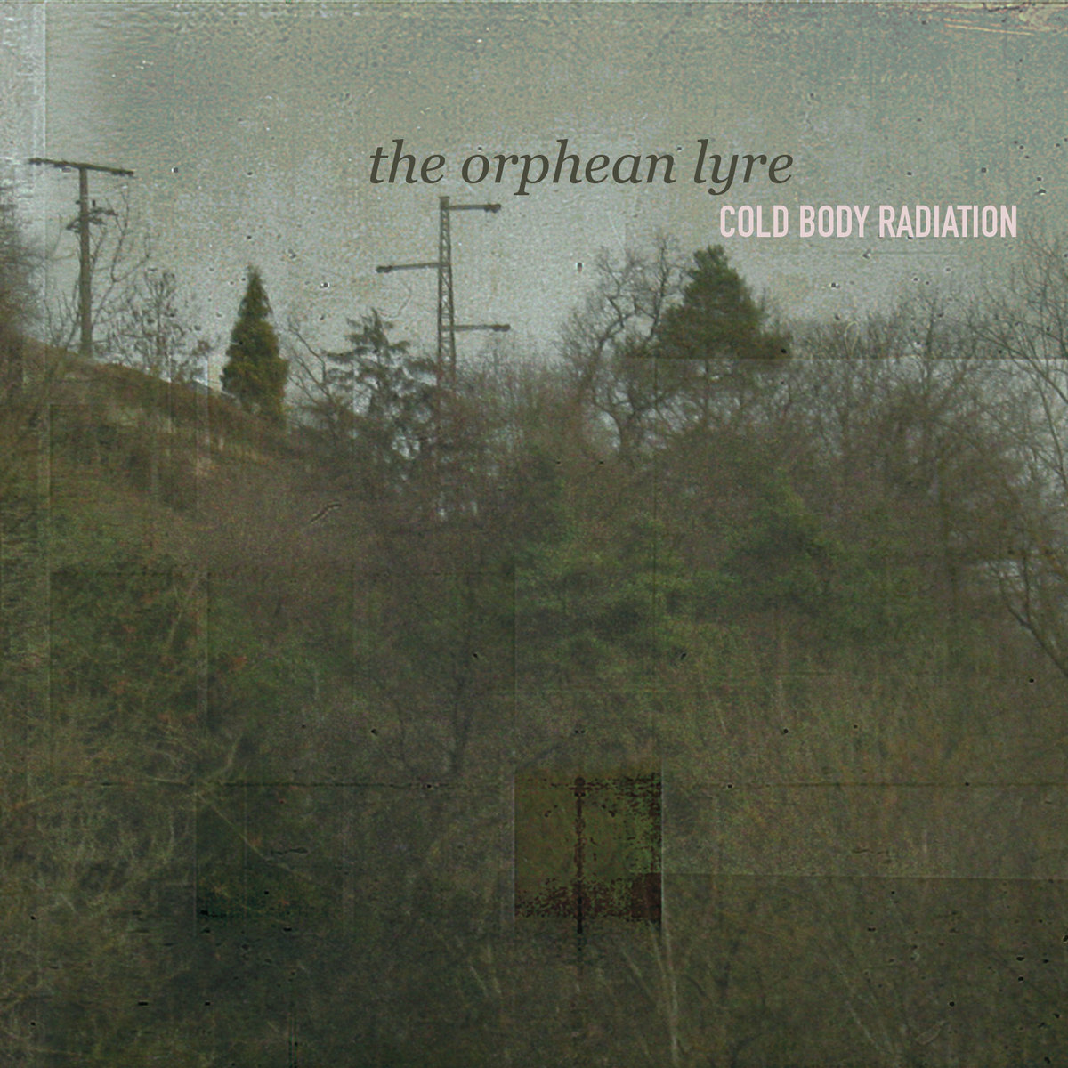 COLD BODY RADIATION - The Orphean Lyre (Digipak)