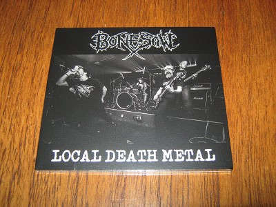 Bonesaw - Local Death  (Digipak)