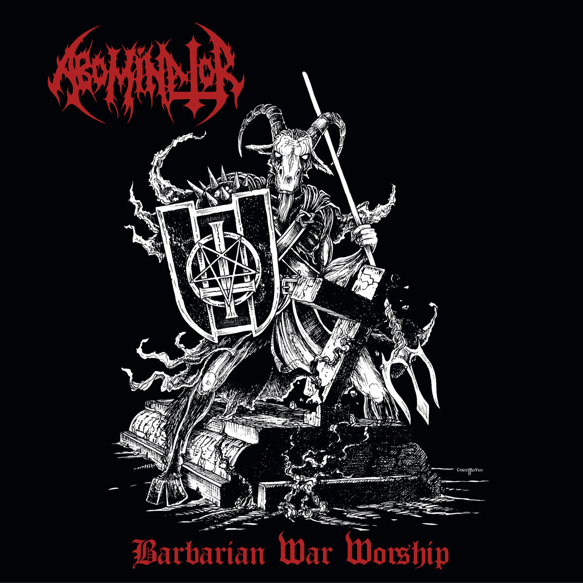 Abominator - Barbarian War Worship (Double LP)