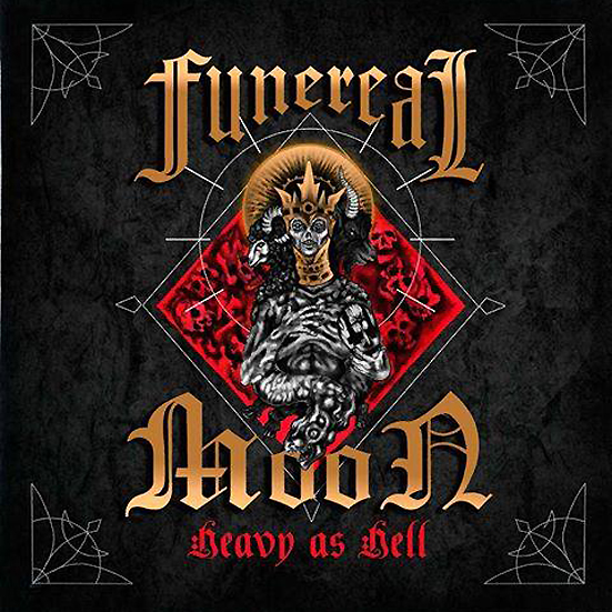 Funereal Moon - Heavy as Hell   (Digipak)