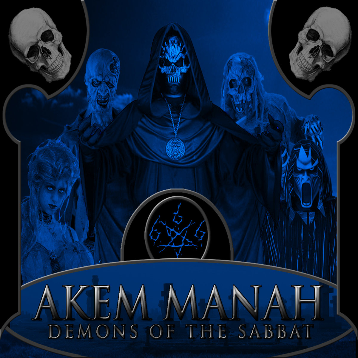 Akem Manah - Demons Of The Sabbat  (Digipak)