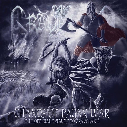 V/A - Chants of Pagan War / The Official Tribute to Graveland  (Double CD)