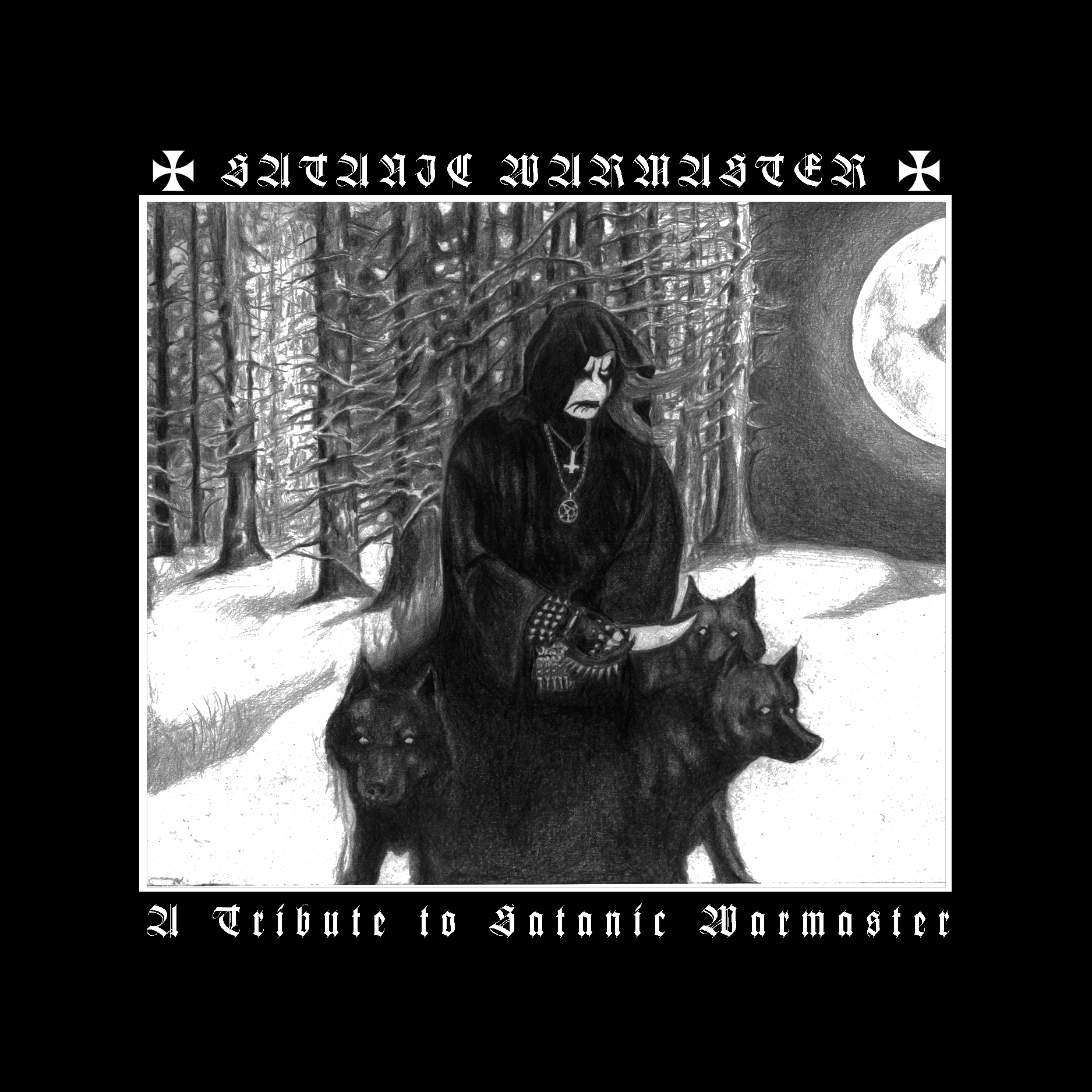 V/A - A Tribute to Satanic Warmaster  (Double-CD)