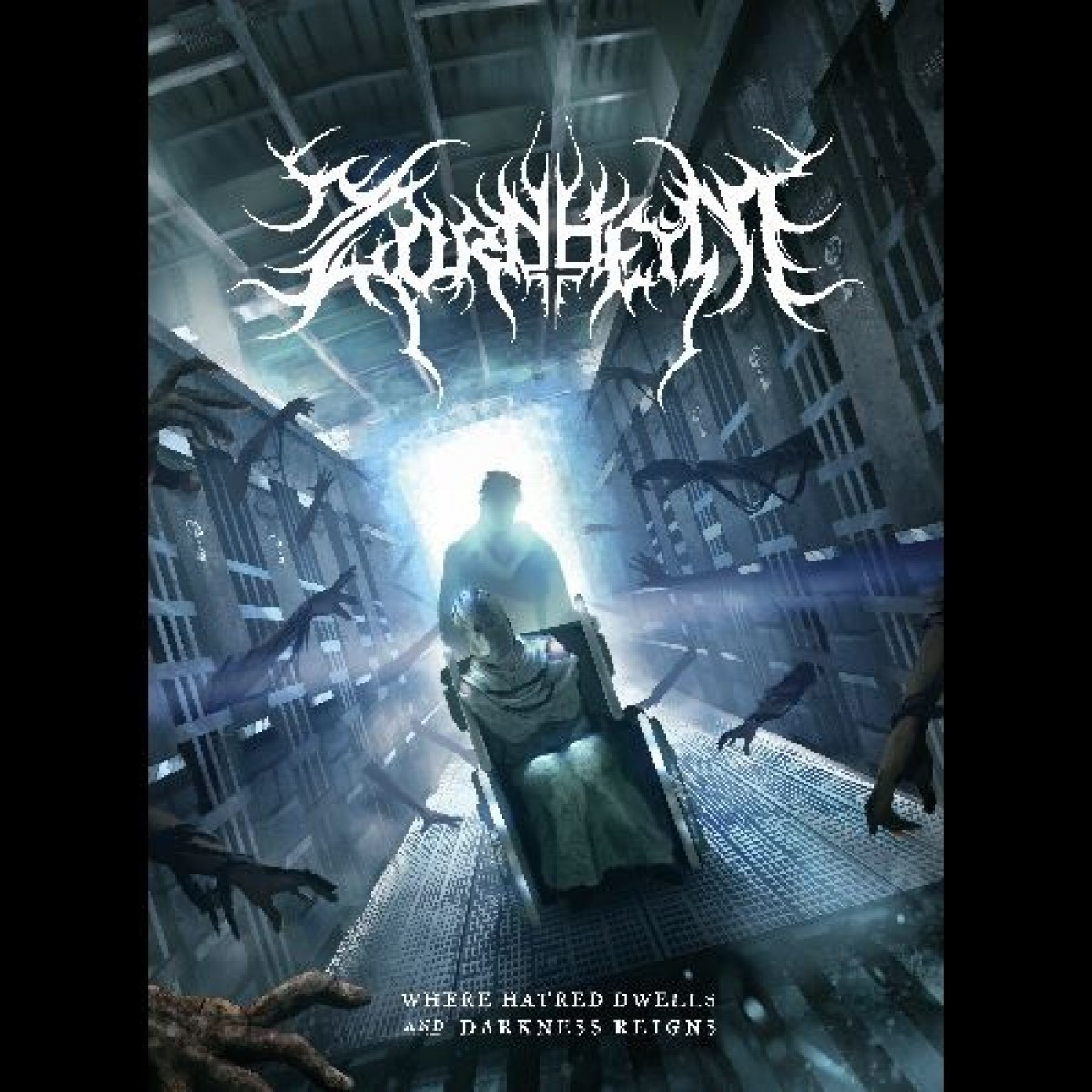 Zornheym - Where Hatred Dwells and Darkness Reigns  (A5 Digipak)