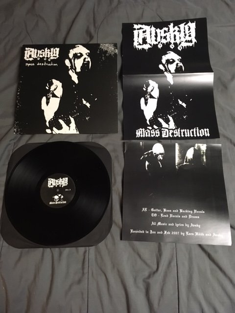Avsky - Mass Destruction (+Poster)