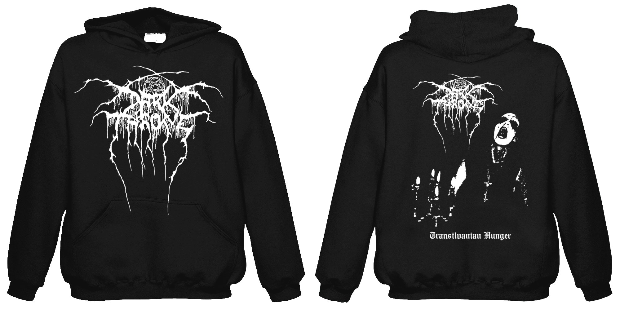 Darkthrone-Transilvanian Hunger  (Hooded Sweatshirt)