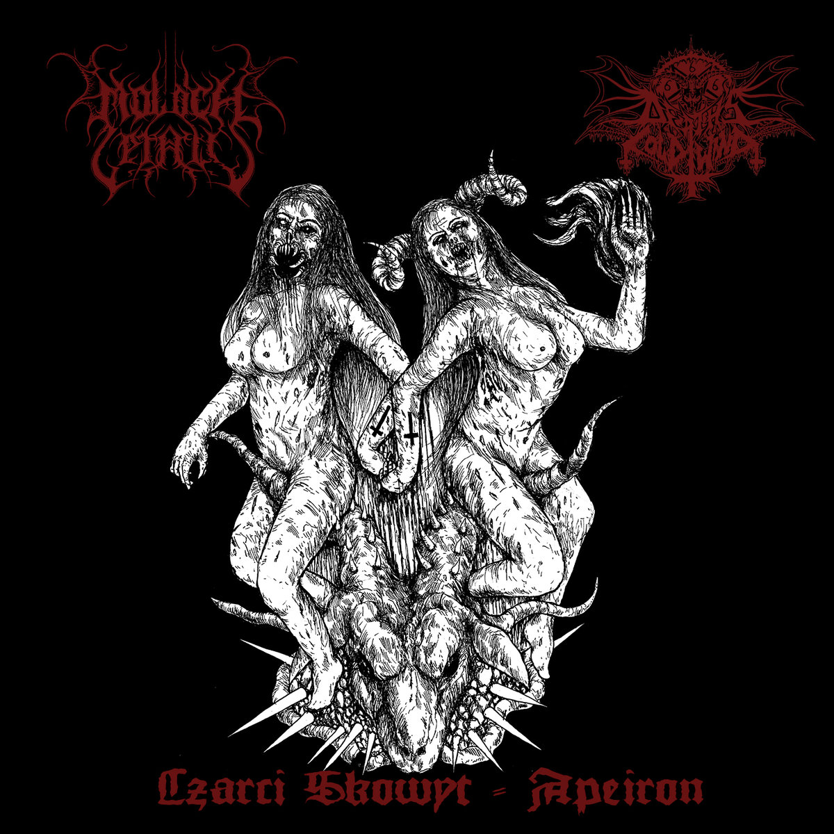 Moloch Letalis / Death's Cold Wind - Split