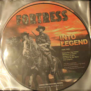 Fortress - Into Legend   (Picture LP)
