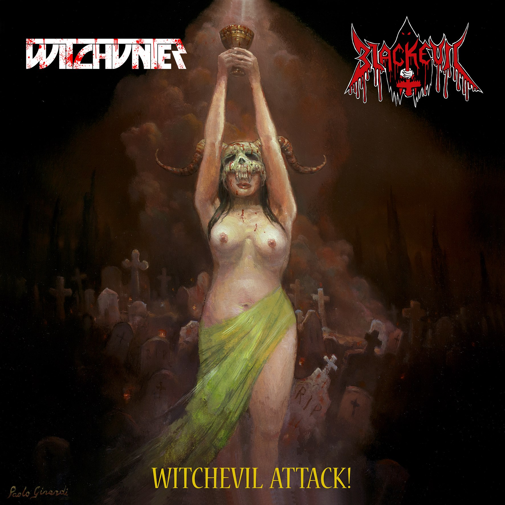 WITCHUNTER / BLACKEVIL - Witchevil Attack!