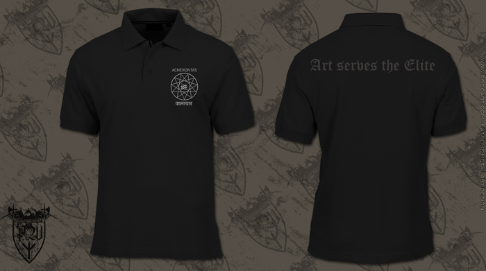 Acherontas - Art Serves The Elite  (Poloshirt)