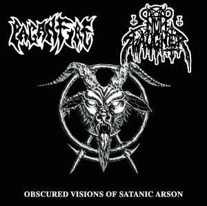 Nunslaughter / Paganfire - Obscured Visions of Satanic Arson