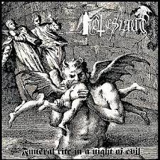 TOTESLAUT - Funeral rite in a night of evil