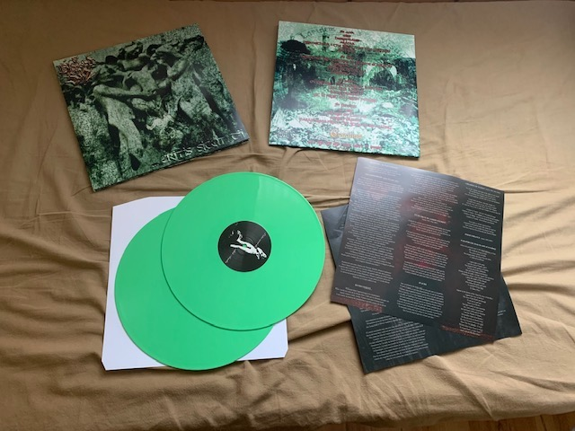 Blessed In Sin - Eritis Sicut Dii   (Double LP,Green vinyl,Lim.100)