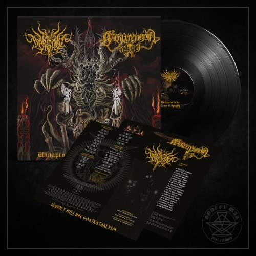 WARGOAT / BLACK CEREMONIAL KULT - Unapproachable Laws of the Abyss  (Lim.200)