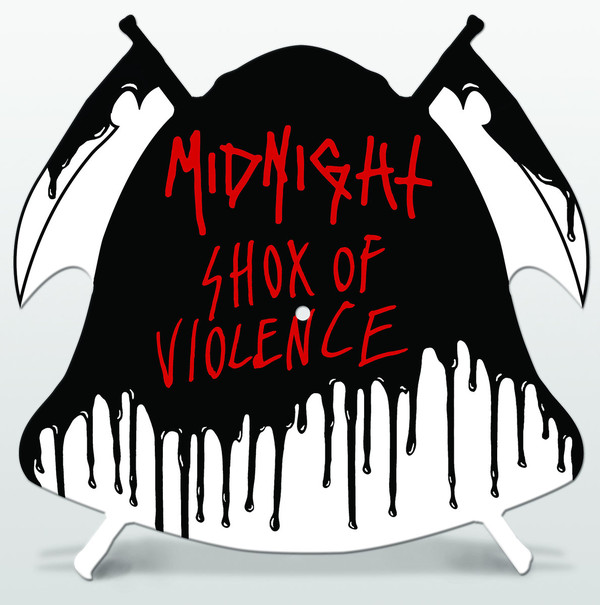 Midnight - Shox Of Violence (Shape Picture LP)