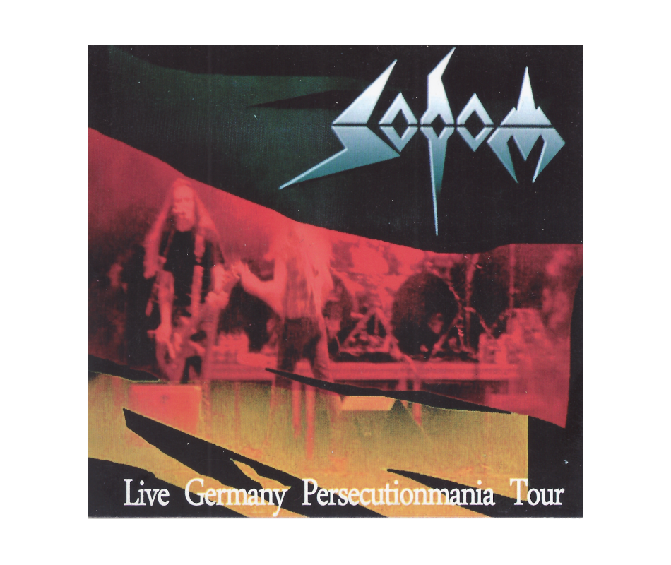 SODOM - Live Germany Persecutionmania