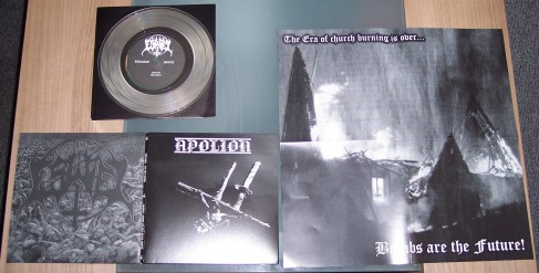 Apolion/Eswiel-Split  (clear vinyl)