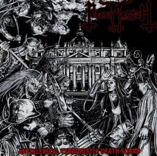 Necromessiah - Antiklerical Terroristik Death Squad  (inverted cross digipack)