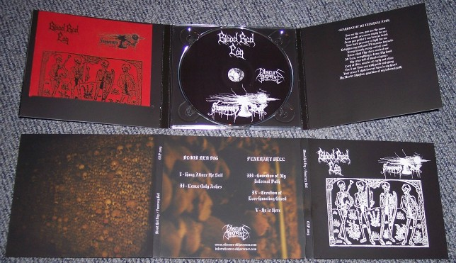 Blood Red Fog/Funerary Bell-Split (Digipack.Lim. 100)