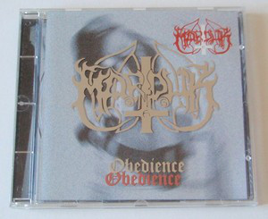Marduk  - Obedience (Silver Logo on Case)