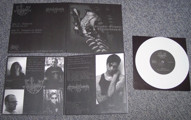 Bethlehem/Benighted In Sodom-  Suizidal-Ovipare Todessehnsucht  (white vinyl Lim. 200)