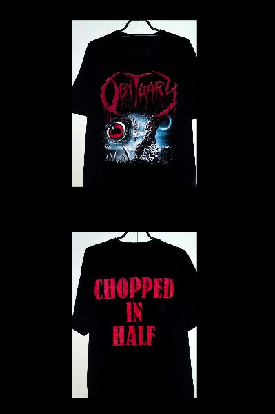 Obituary-Chopped In Half